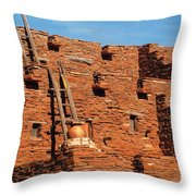 City - Arizona - Pueblo Throw Pillow
