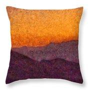 City - Arizona - Rolling Hills Throw Pillow