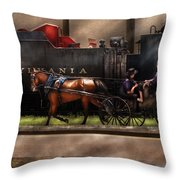 City - Lancaster Pa - You Got To Love Lancaster Throw Pillow by Mike Savad