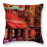 City - Vegas - The Pizza Joint Throw Pillow