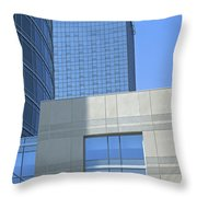 City Blues Throw Pillow