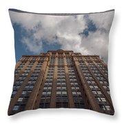 City Canyon Throw Pillow