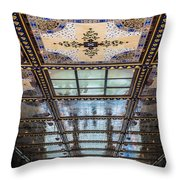 City Ceilings Throw Pillow
