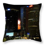 City Celebration Throw Pillow