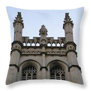 City Church Tower Throw Pillow