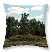 City Circle Throw Pillow