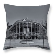 City Field - New York Mets Throw Pillow