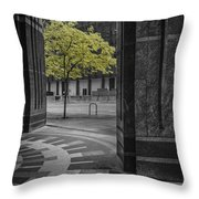 City Forest Throw Pillow