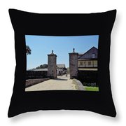 City Gate Of St Augustine Throw Pillow