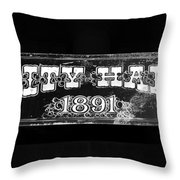 City Hall 1891 Throw Pillow