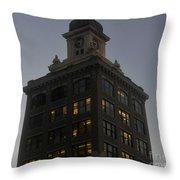 City Hall Throw Pillow