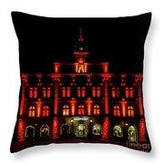 City Hall In Uppsala Throw Pillow