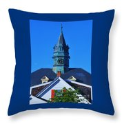 6.12 Pm In Provincetown Throw Pillow