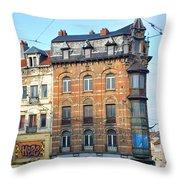 City Hustle Throw Pillow