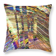 City In Motion 29 Throw Pillow