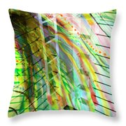 City In Motion 56 Throw Pillow