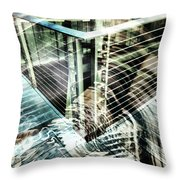 City In Motion 75 Throw Pillow