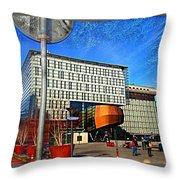 City Infradesign Artwork Throw Pillow
