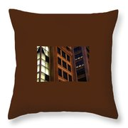 City Layout Throw Pillow