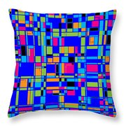 City Life Series No. 4 Throw Pillow