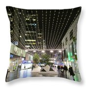 City Lights 3 Throw Pillow