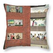 City Living Throw Pillow