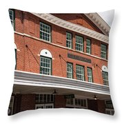City Market Throw Pillow