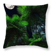 City Nights Throw Pillow