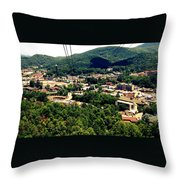 City Of Gatlinburg Throw Pillow
