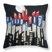 City Of Gold #52 Throw Pillow