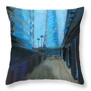 City Of London Street Throw Pillow