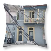 City Of N'awlins Throw Pillow