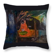 City Of New Orleans Throw Pillow