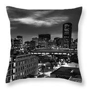 City Of Richmond Virginia Throw Pillow