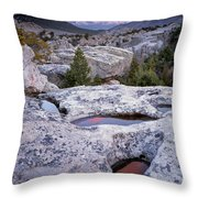 City Of The Rocks Throw Pillow