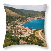 City Of Vis Throw Pillow