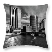City On The Grand Throw Pillow