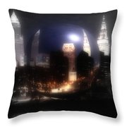 City On The North Coast Throw Pillow