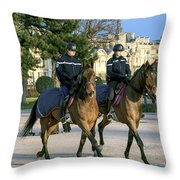 City Patrol Throw Pillow
