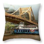 City - Pittsburg Pa - Great Memories Throw Pillow