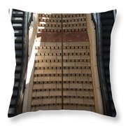 City Place Stairs Throw Pillow