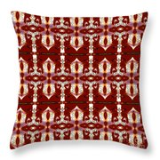 City Red Throw Pillow