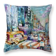 City Road Throw Pillow