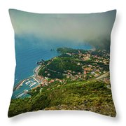 City Roofs Throw Pillow