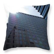 City Sky Throw Pillow