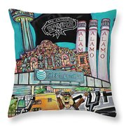 City Spirit Throw Pillow