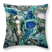City Strollin Throw Pillow