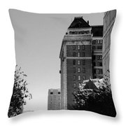 City Structure  Throw Pillow