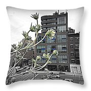 City Sway Throw Pillow