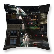 City Trails Throw Pillow